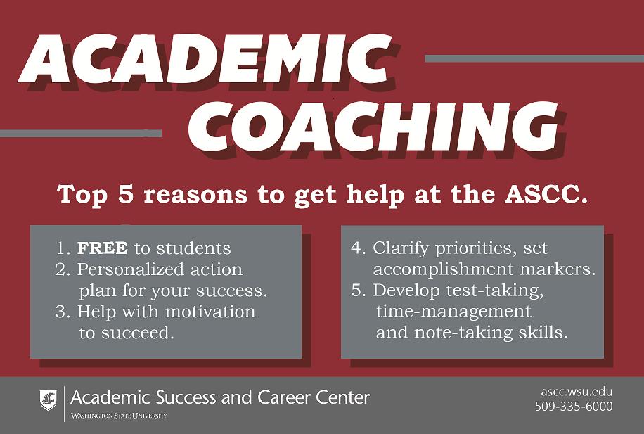 Academic Coaching Post Card Image