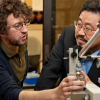 Professor_Chulhee_Kang_works_with_a_Graduate_Student_in_XRay_Crystallography (1)