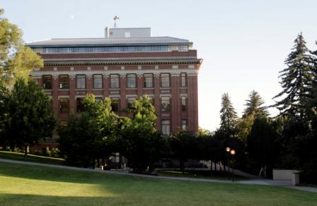 Carpenter Hall on the Washington State University Pullman campus