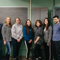 WSU Engineers Without Borders club group photo