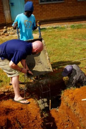 Men hard at work in East Africa
