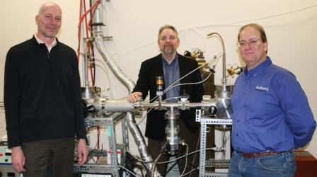 Grant Norton, Tim Kinkeade, and David McIlroy, founders of GoNano Technologies