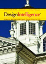 The cover of Design Intelligence