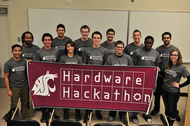 1st Annual Hardware Hackathon at WSU