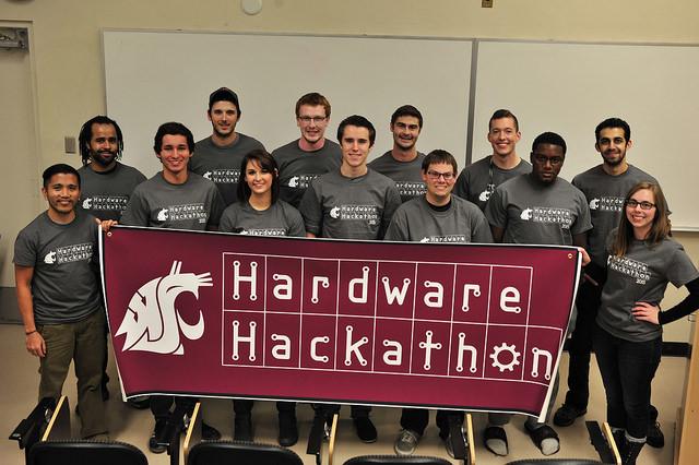 1st Annual Hardware Hackathon at WSU