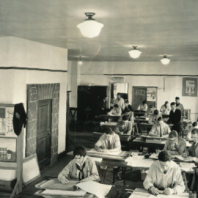 drafting room, 1926