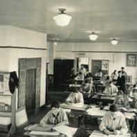 drafting room, 1926