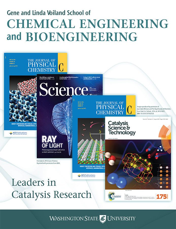WSU Gene and Linda Voiland School of Chemical Engineering and Bioengineering 2016 newsletter cover