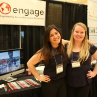 Emily Willard, right, and Katherine Brandenstein created the sterilized injection project, Engage.