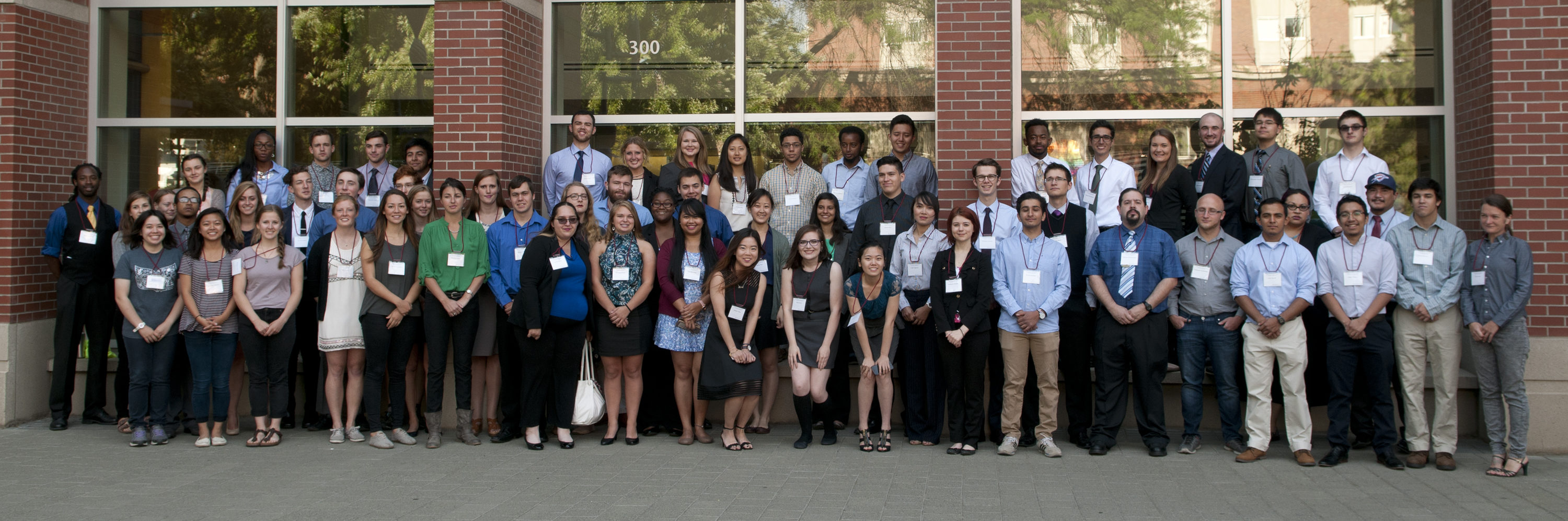 Summer undergraduate research students.