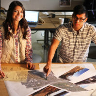 School of Design and Construction students developed smart city design ideas for the University District.