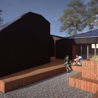 Rendering of WSU Solar Decathlon design.