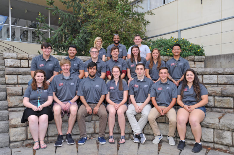 Fall 2017 Voiland College Student Ambassadors