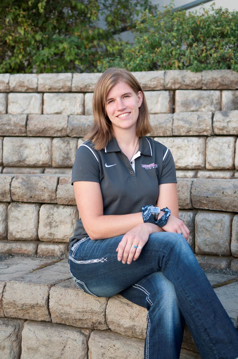Jessica Howe, double majoring in Civil Engineering and Ecosystem and Environmental Science, and member of the Washington State women's rowing team