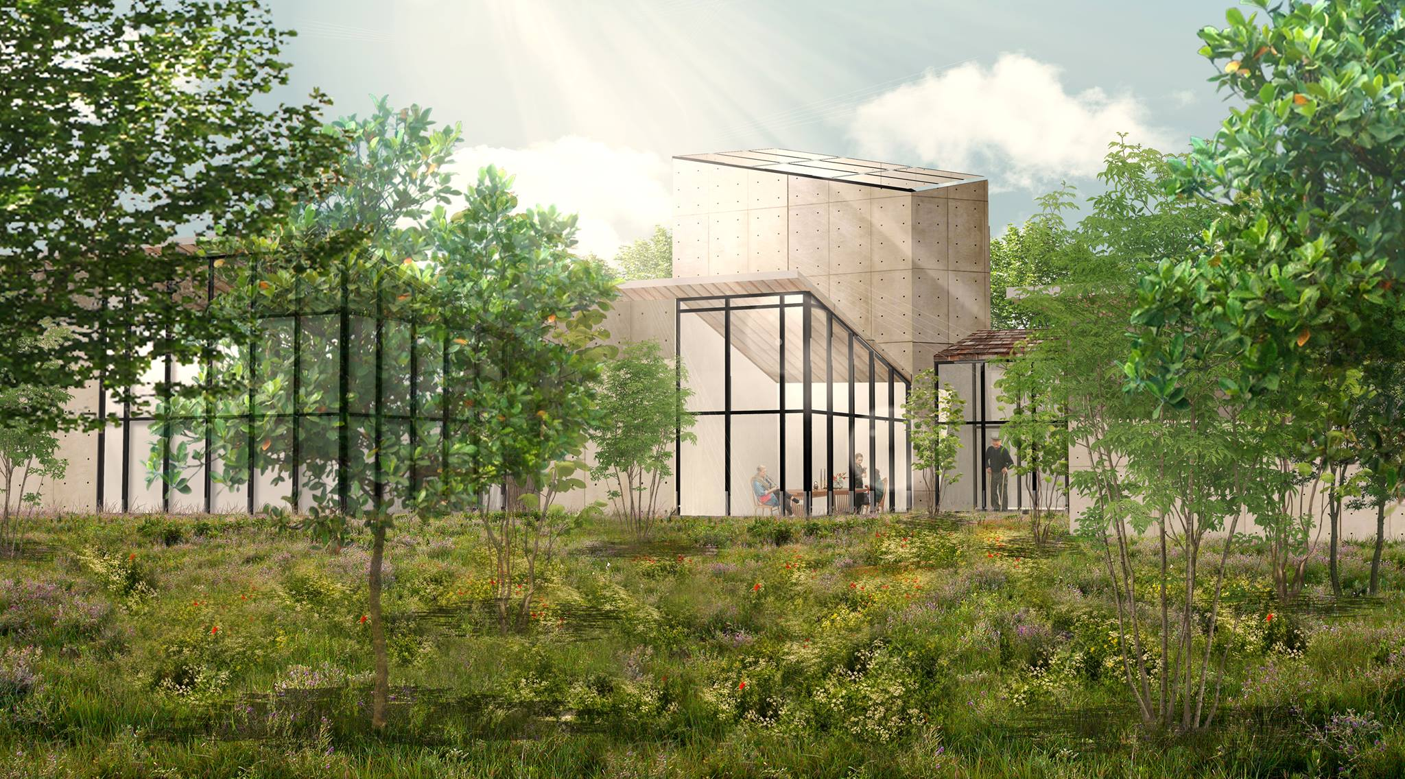 WSU student design concept for a better cancer treatment center