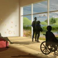 WSU student design concept for a better cancer treatment center