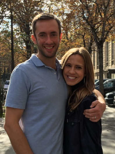 Kristoffer Christianson and his wife, Maggie