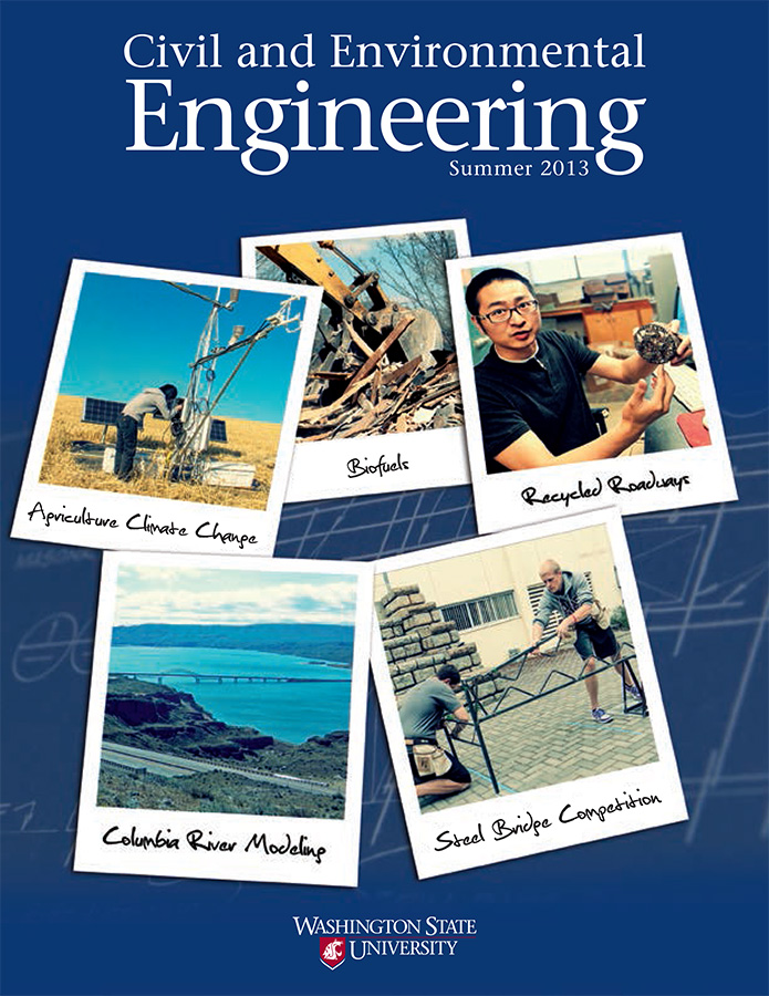 Civil and Environmental Engineering Summer 2013 newsletter cover