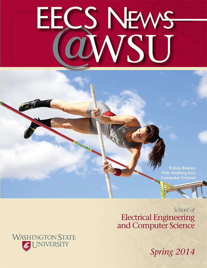 Electrical Engineering and Computer Science Spring 2014 newsletter cover