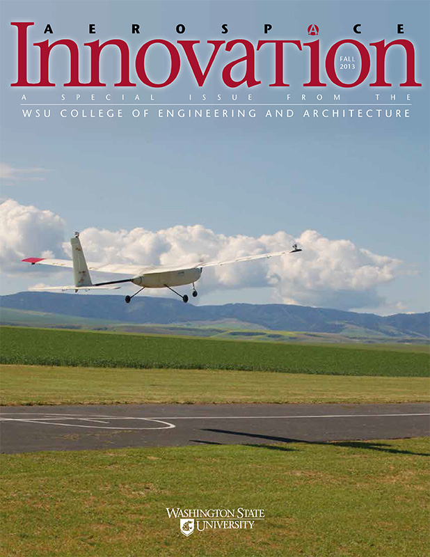 Innovation 2013 magazine cover - Aerospace edition