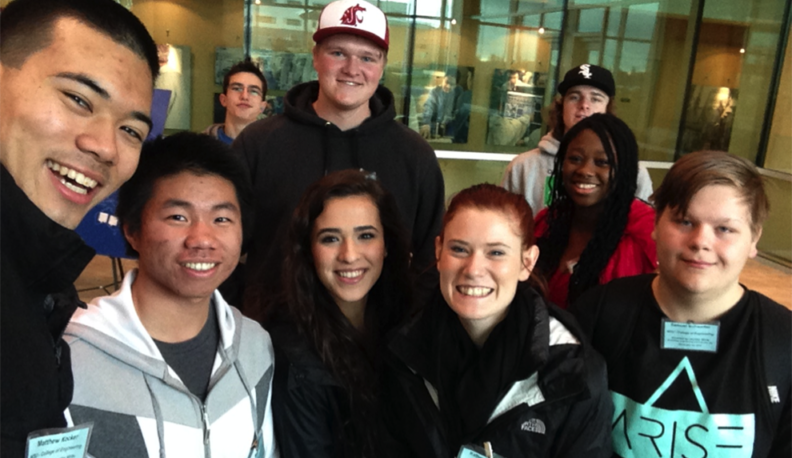 WSU STARS Students on field trip to Schweitzer Engineering Laboratories (SEL).
