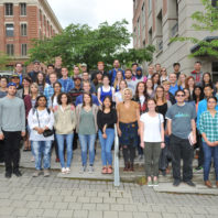 Group photo of the Summer Undergraduate Research program students