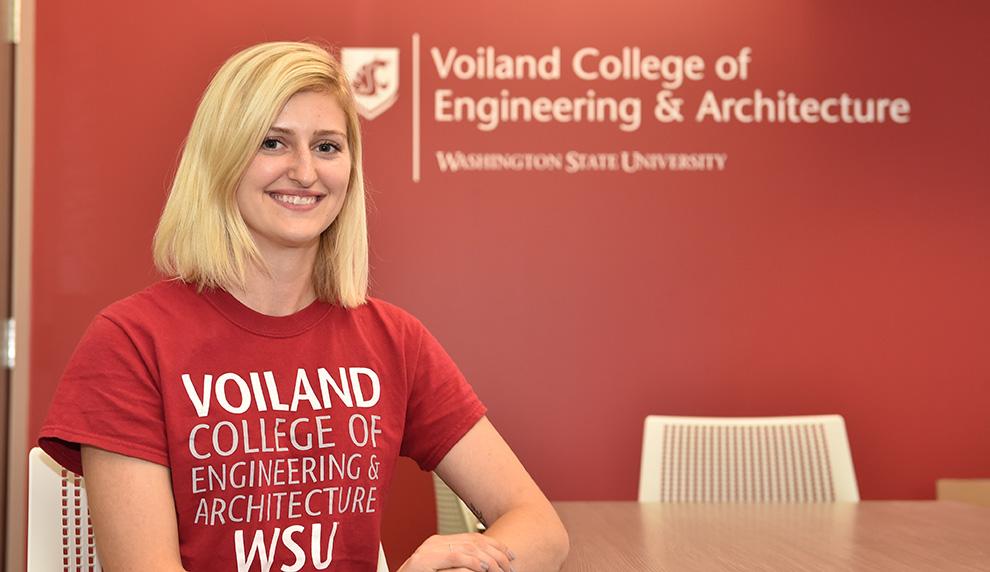 WSU student Heidi Lyons