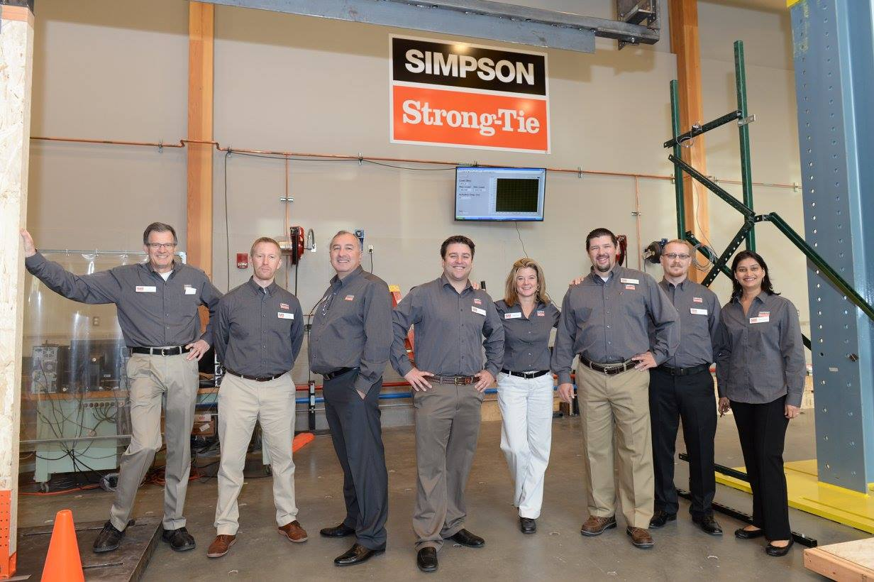 Simpson Strong-Tie team