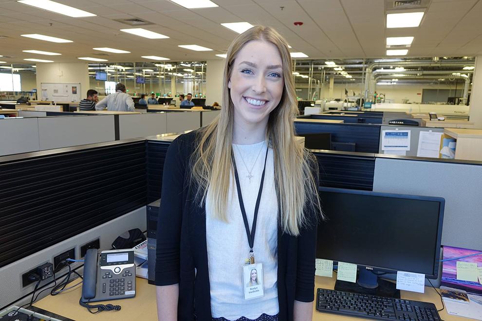 Roslyn in the SEL Lewiston office.
