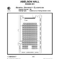 Abelson 201 floor plan
