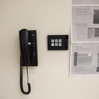wall phone, controls