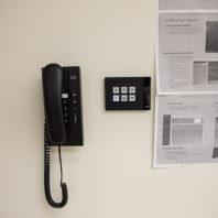 wall phone, controls