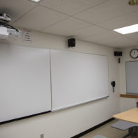 projector, whiteboards