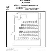 classroom layout