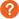 white question mark on orange circle.