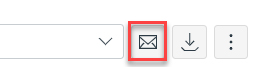 Screenshot: Select the envelope icon.
