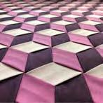 Tumbling Blocks Weave photo sample