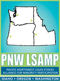 Pacific Northwest Louis Stokes Alliance for Minority Participation logo.