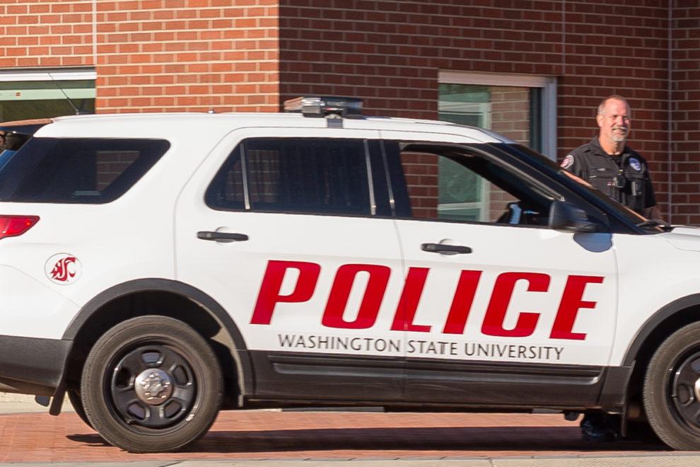 WSU Police cruiser
