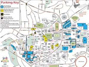 New maps show free and discounted parking area around the Pullman campus on evenings and weekends.