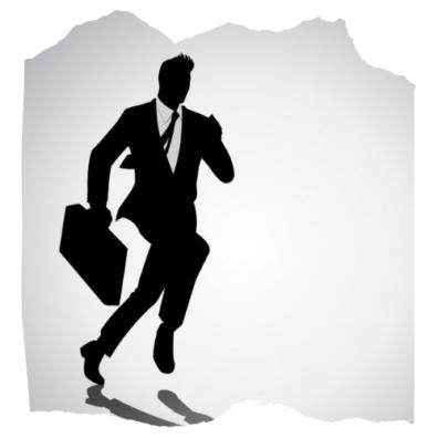 Decorating image depicting a secret agent.