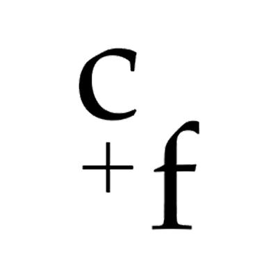 C+F Logo