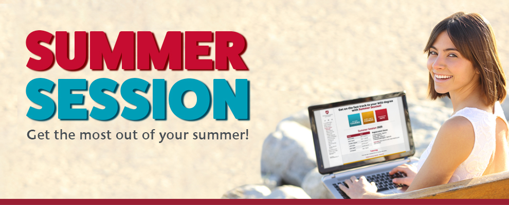 Graphic: Summer Session - Get the most out of your summer!