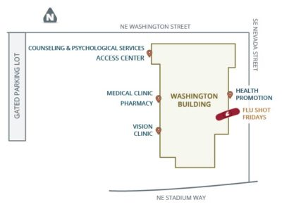 Washington Building Map