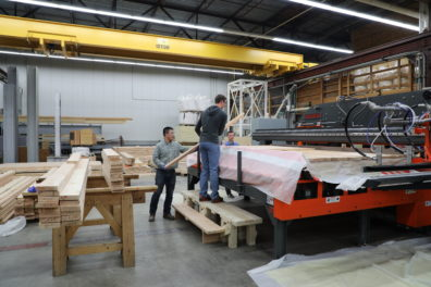 Composite Materials and Engineering Center, CLT press
