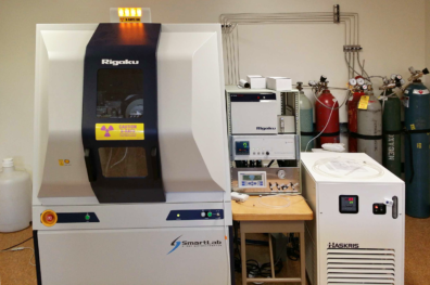 VSCEB Surface Analysis Center with the Rigaku Smart Lab.