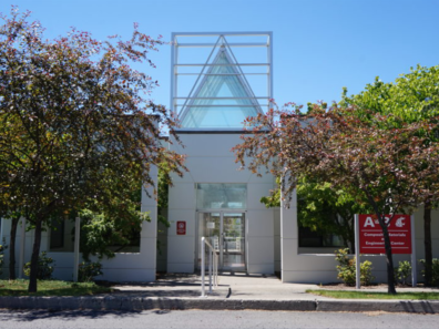 Front entrance of Research and Technology Park.