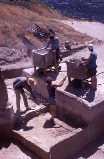 45WT41 Area C, Excavation in Progress, 1967