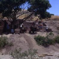 45WT41 Area B, Excavation in Progress, 1967