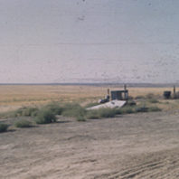 View northeast from the cabin, 1951